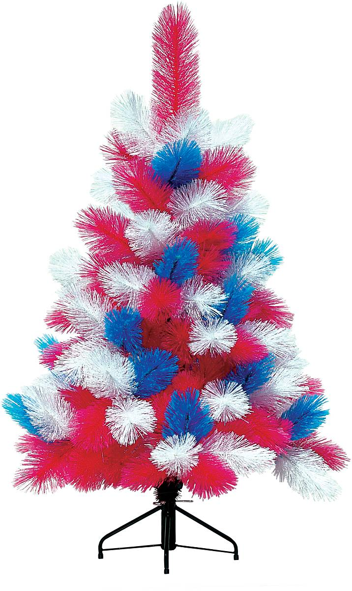 цветная искусственная елка