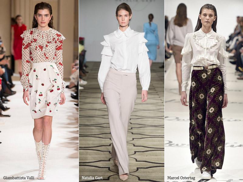 49a05132dc0 100 модных новинок  Блузки и туники 2018 тенденции и тренды фото