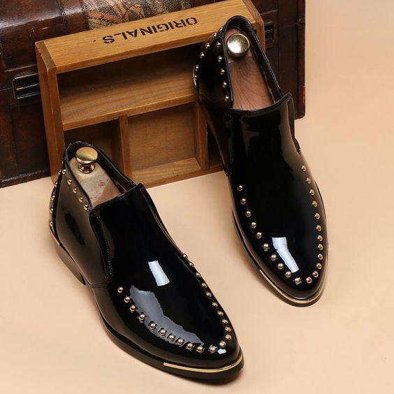 4d4bc85c0ccd 100 модных новинок: Мужские туфли тенденции 2018 года на фото