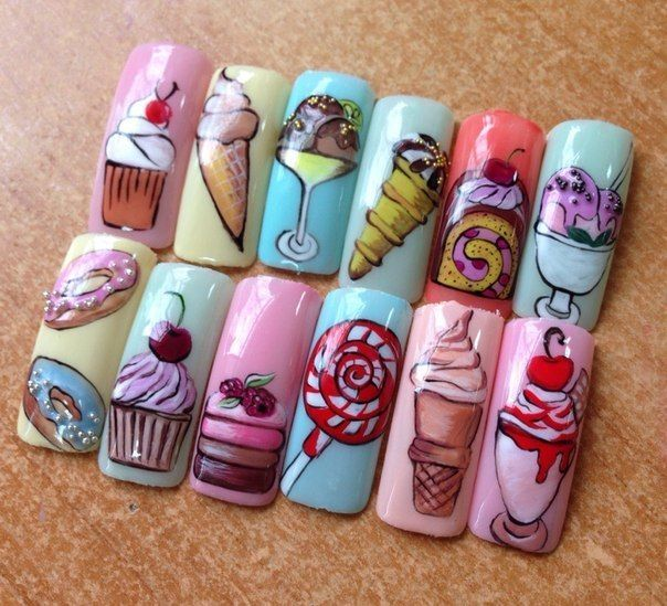 фото оригинальные рисунки на ногтях