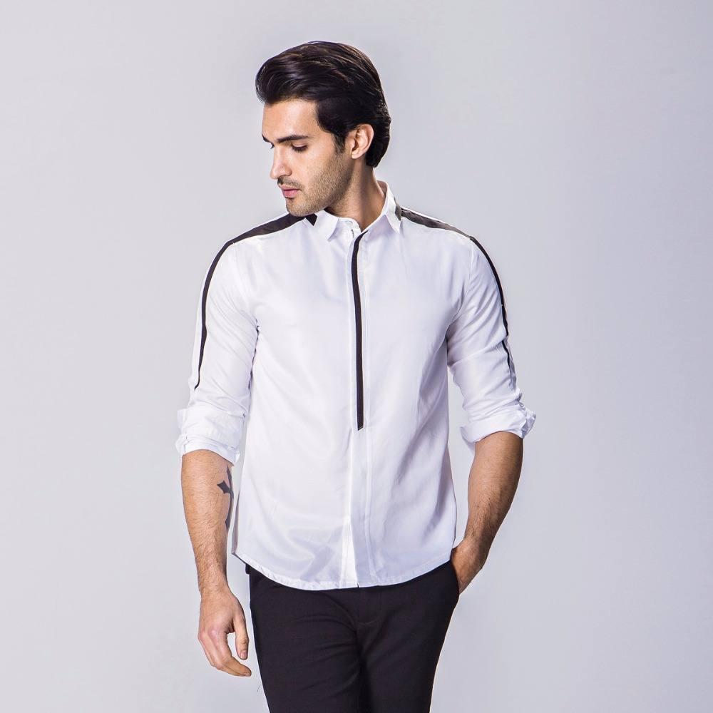 d96990c9042b Классика – оптимальный вариант для повседневного ношения или деловых  встреч. Главное правильно сочетать классическую рубашку с остальными  элементами ...