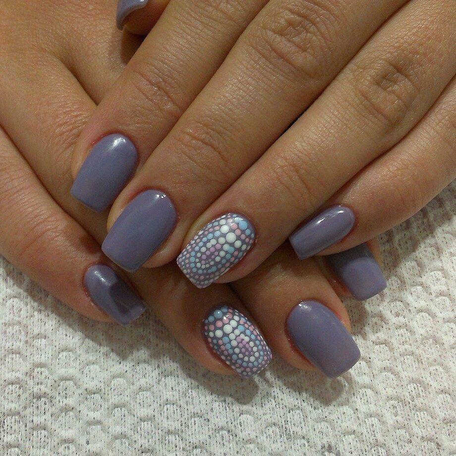 Узоры на ногтях шеллаком