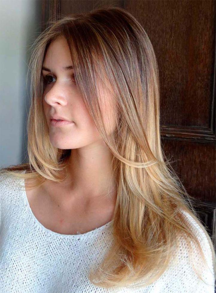 Натуральное окрашивание русых волос