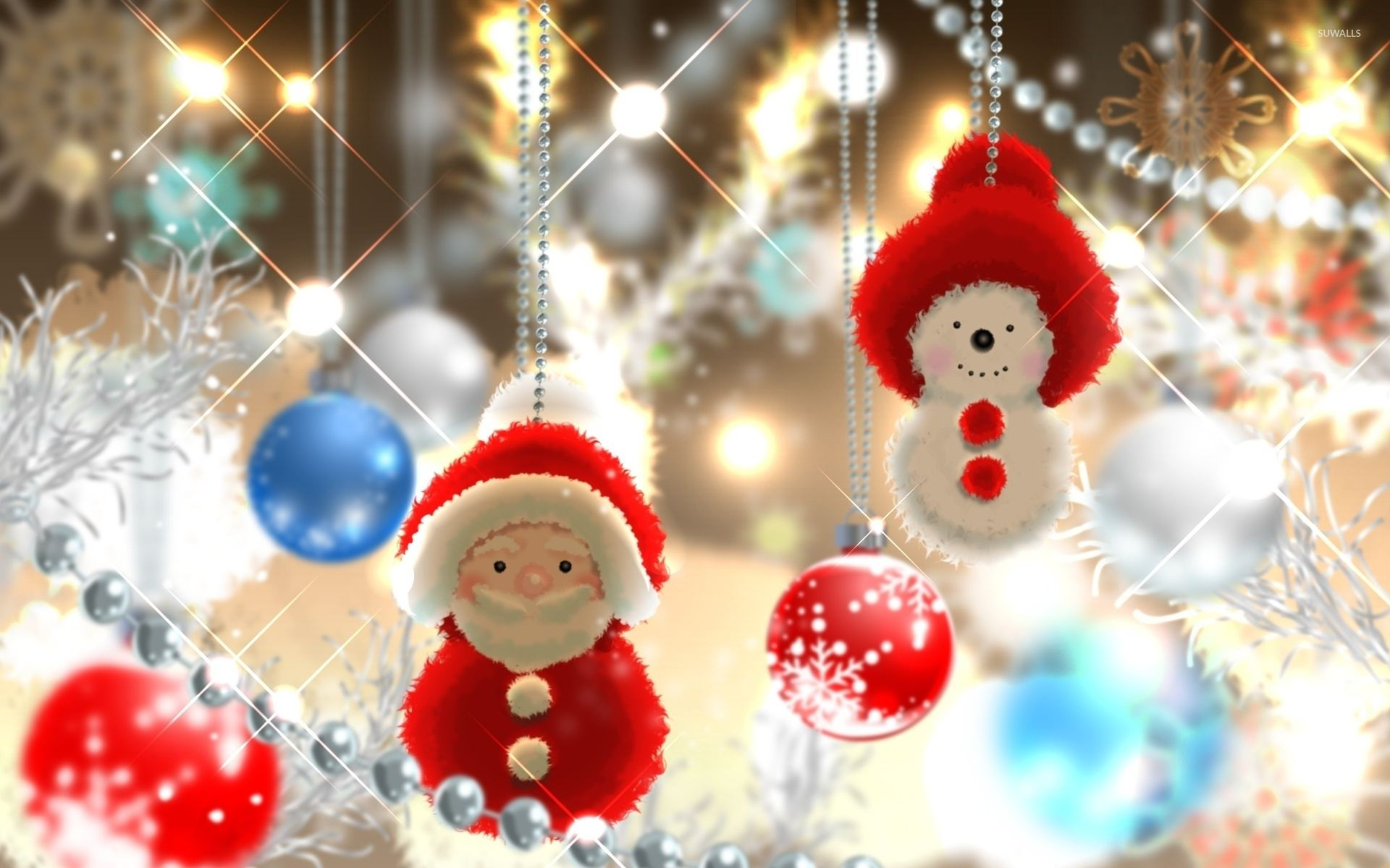 Новогодние подвески