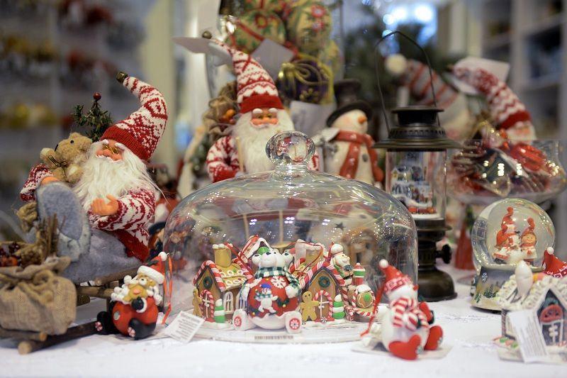 Оригинальные рождественские игрушки
