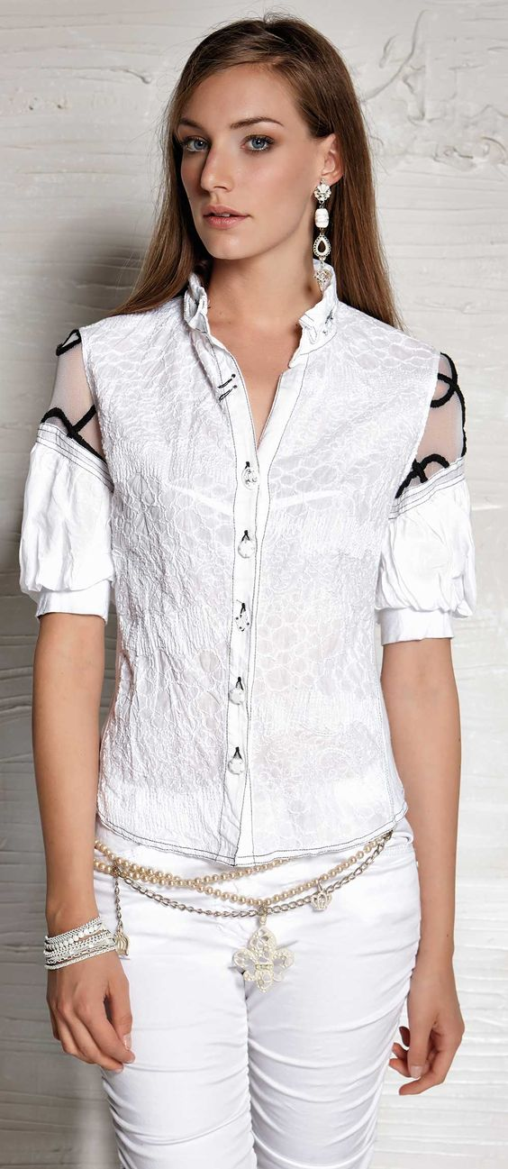 Модные блузки 2018. Фасоны и оформление
