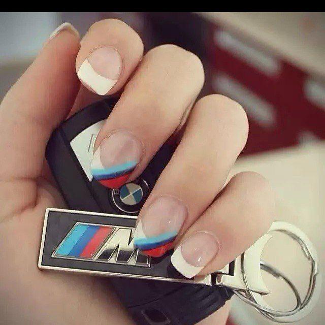 Цвета БМВ на ногтях