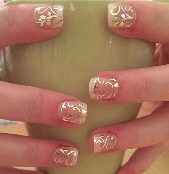 Дизайн ногтей фото цветок сакуры