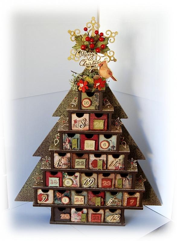 Ивент-календарь в форме елки