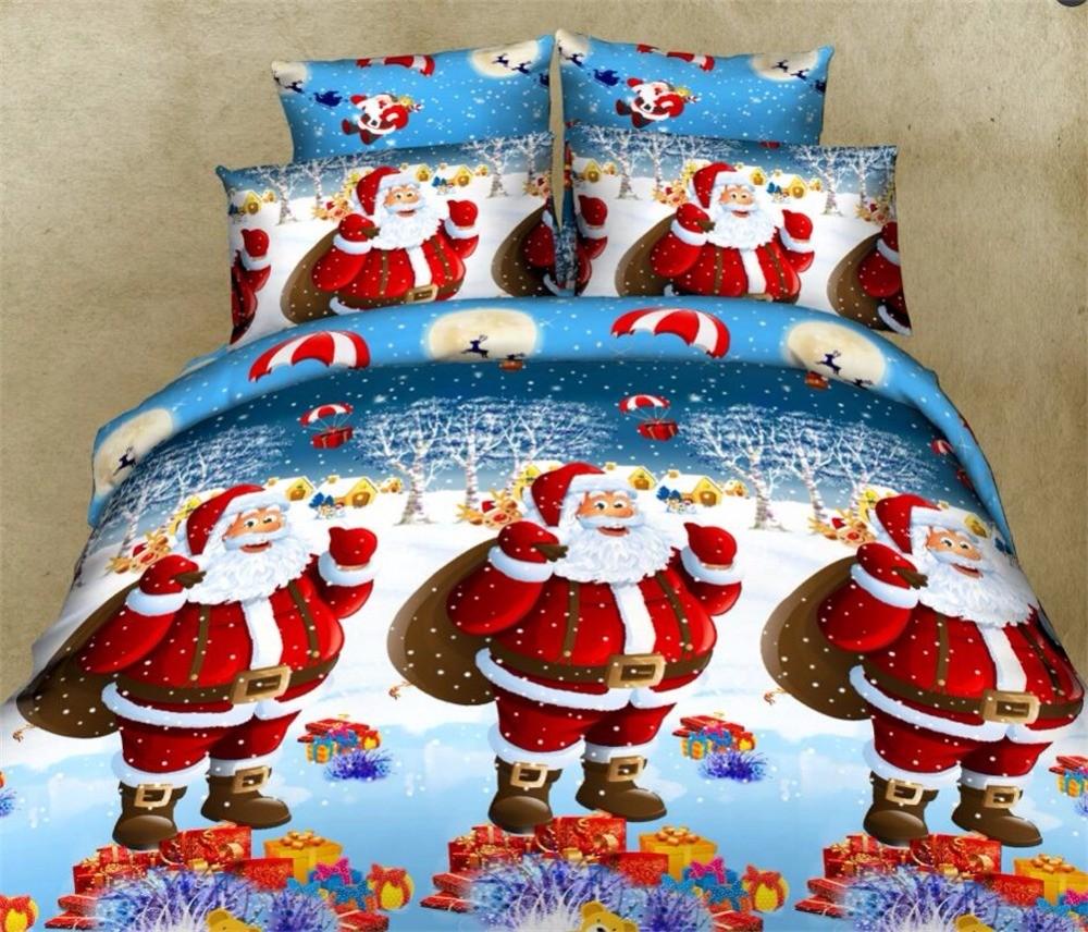 Постельное белье с Санта Клаусом