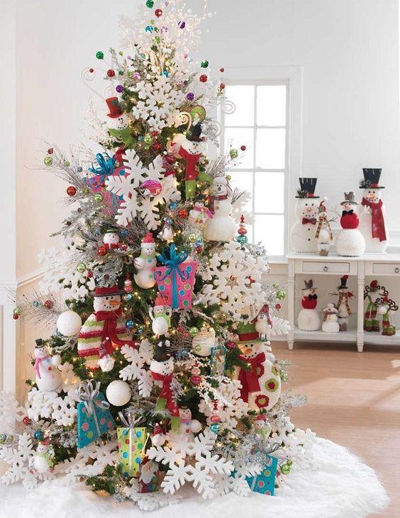 Роскошная елка в детской