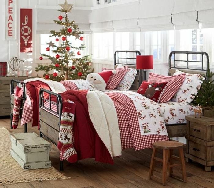 Новогодняя комната для ребенка