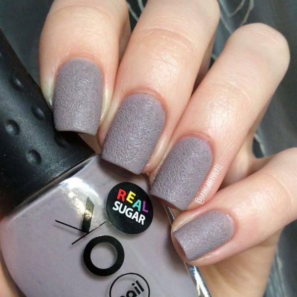 Серый деловой макияж