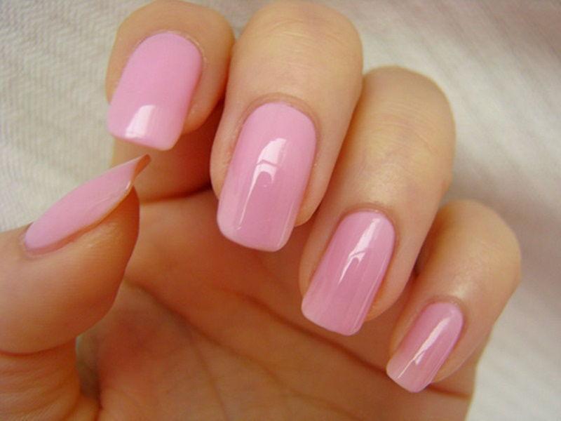 Насыщенный розовый шеллак