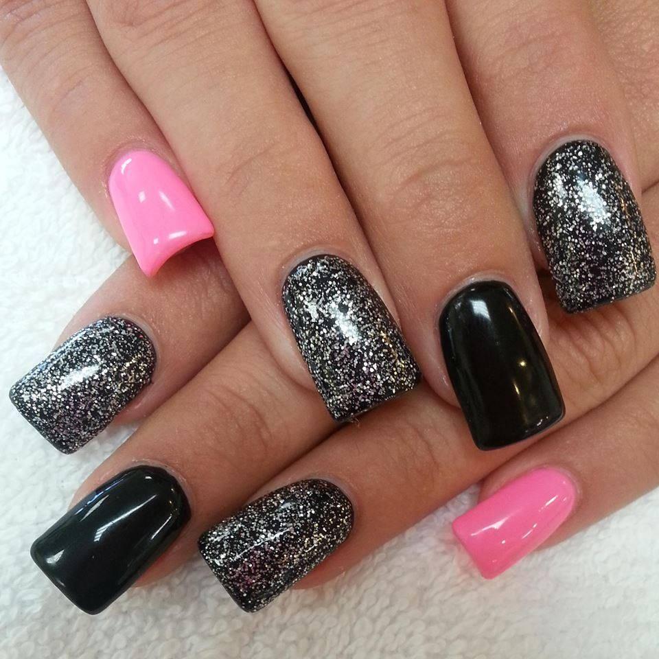 dark pink nails - 960×960