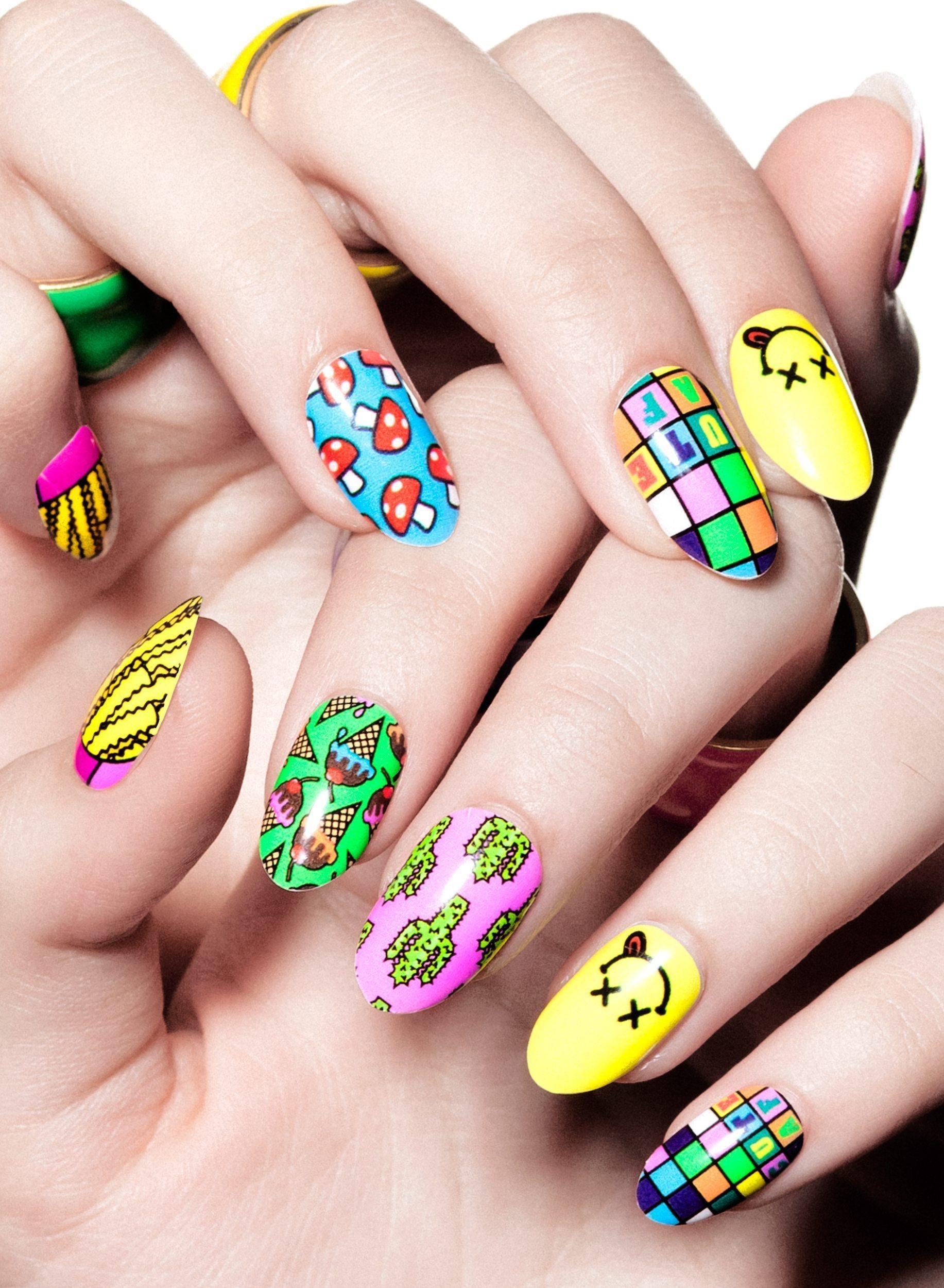 Крутые рисунки для ногтей