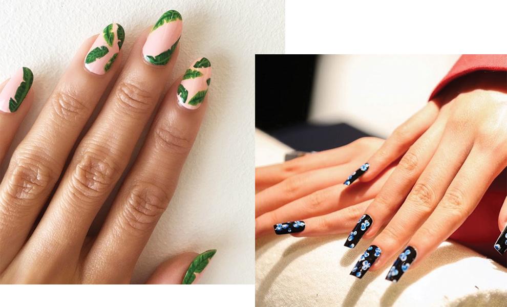 Смотреть Идеи и варианты росписи ногтей пошагово в видео уроках и на фото видео