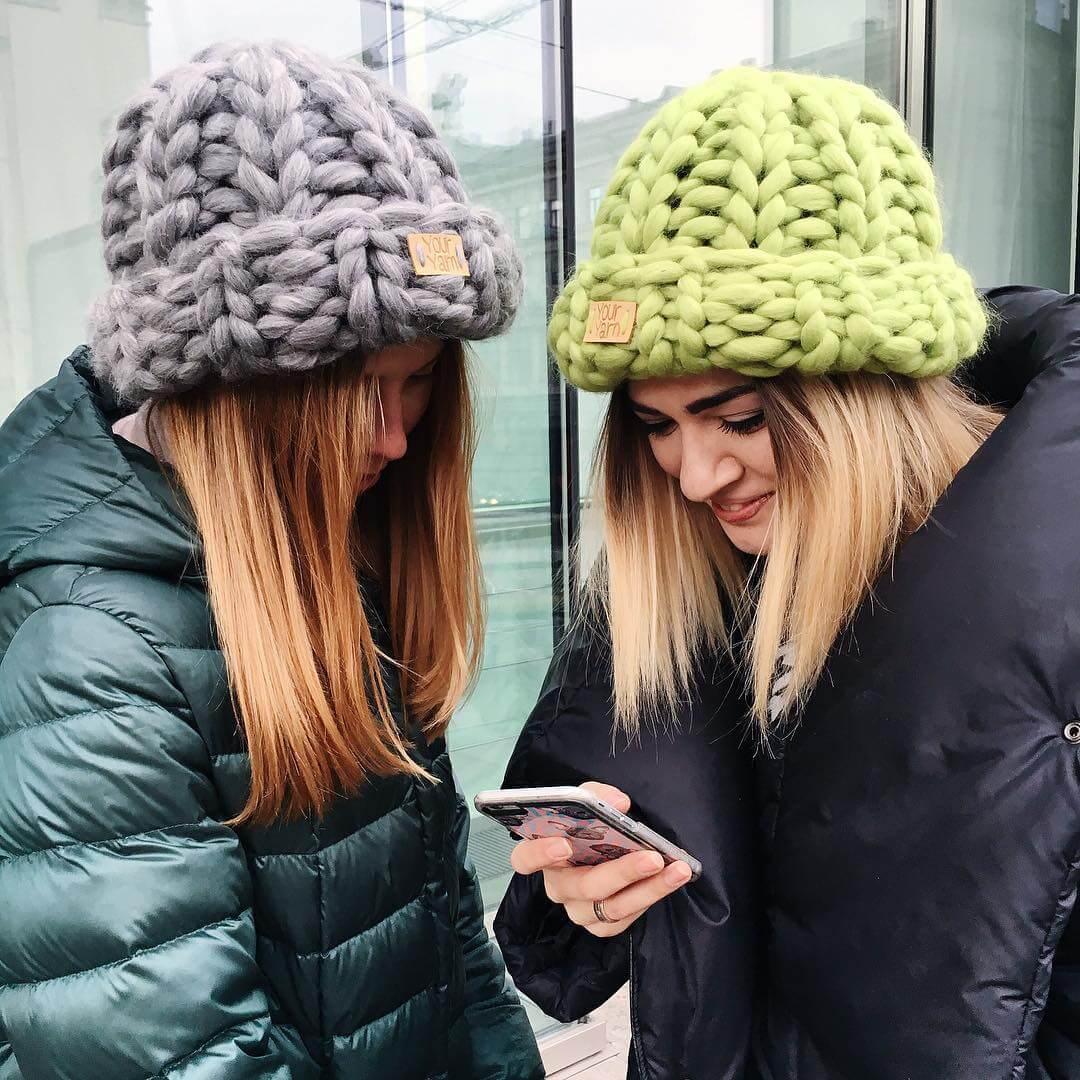 100 модных новинок женские шапки осень зима 2017 2018 на фото