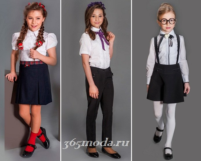 Школьная форма для девочек: тренды 2018
