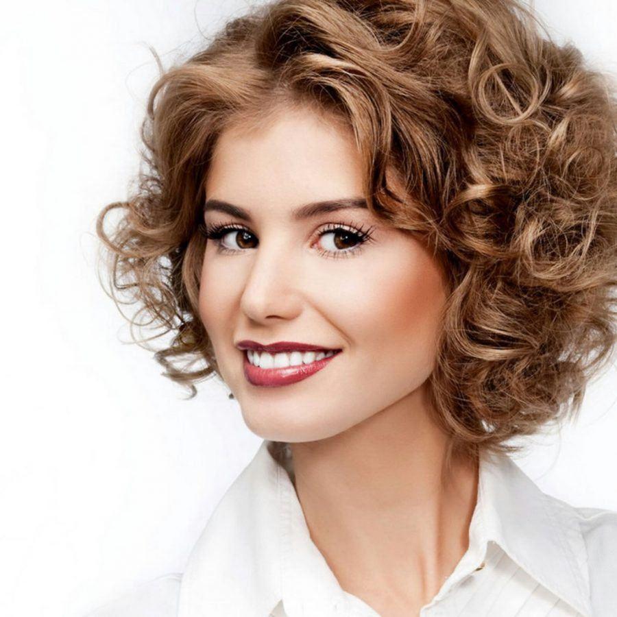 картинки причесок для вьющихся волос твоя сила