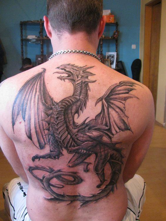 Популярные идеи и значения татуировки дракона