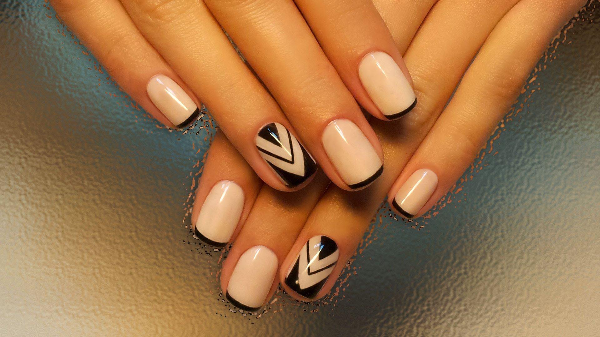 Идеи дизайна ногтей гель лаком на короткие ногти фото