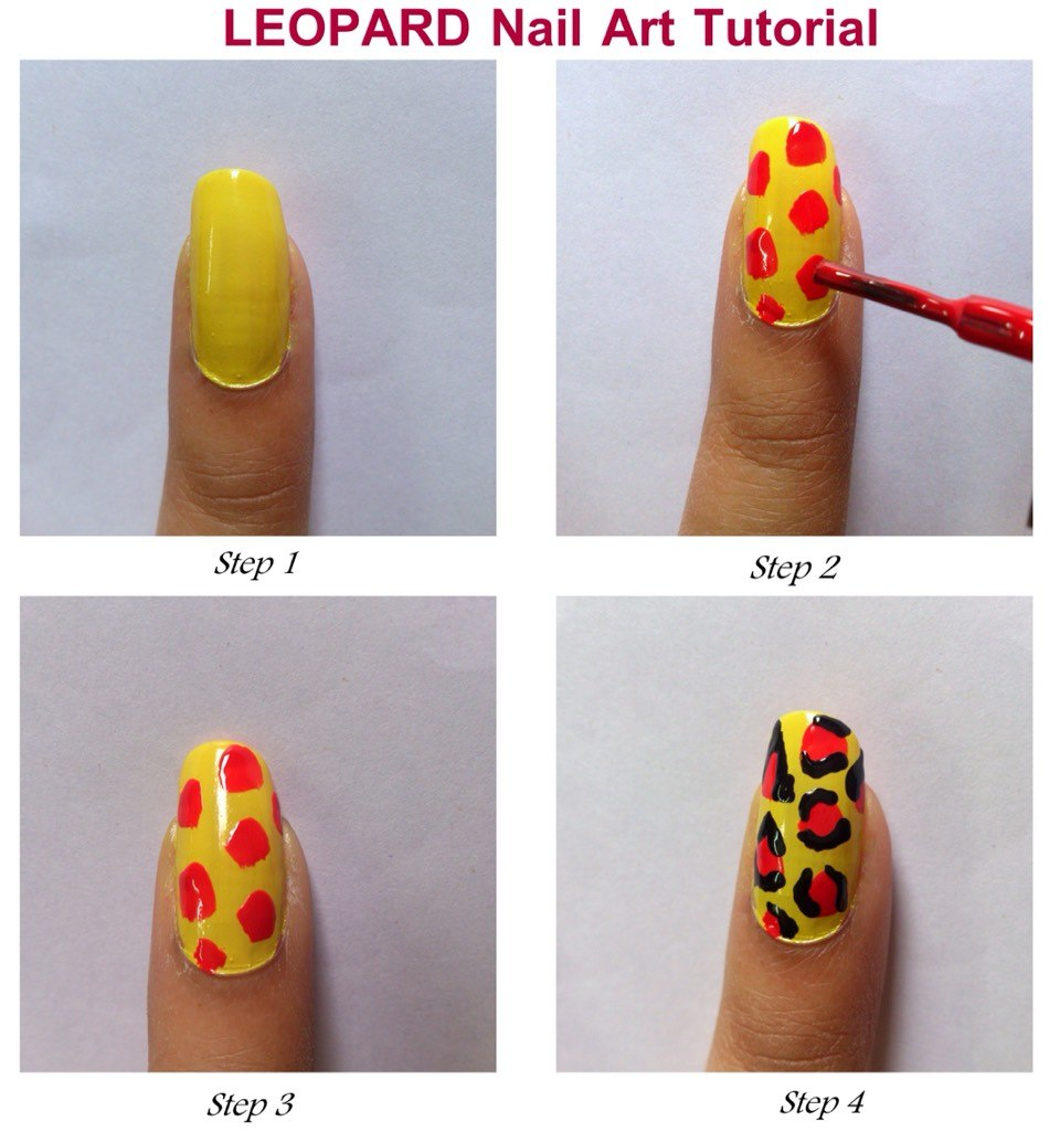 Сделать, делать рисунок на ногтях