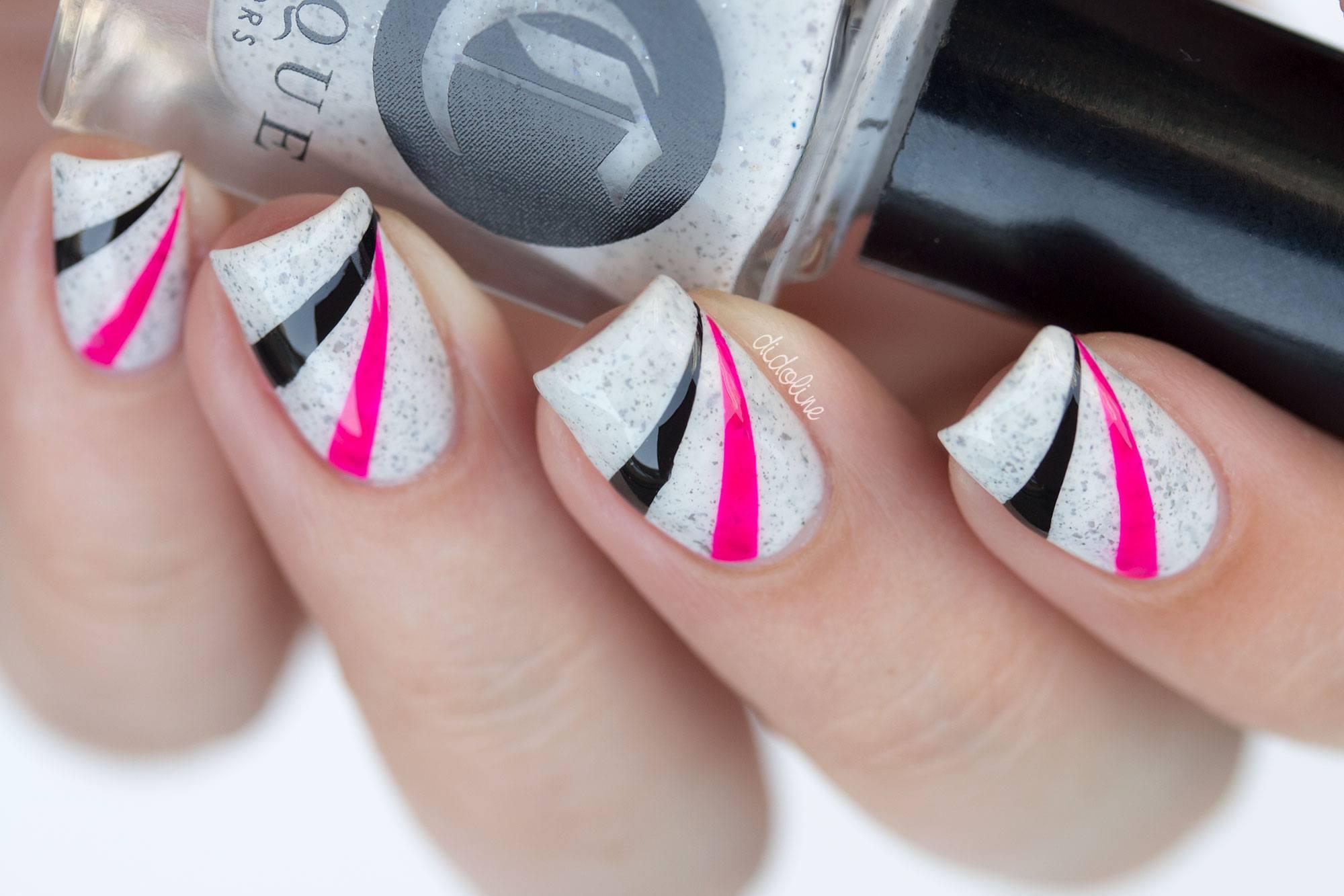 Фото современного дизайна гель ногтей