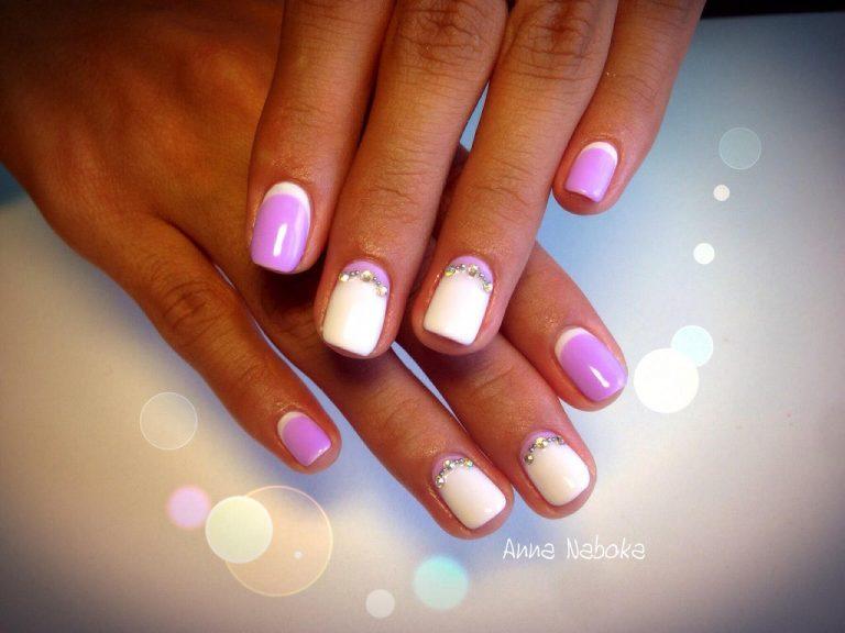 Шикарные ногти гель лаком