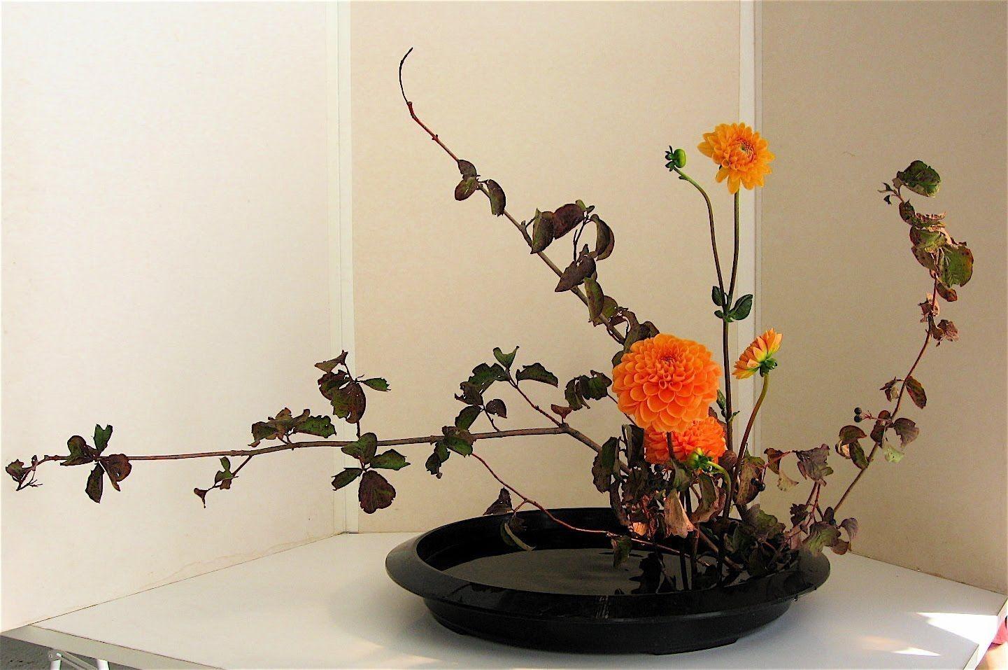 Цветов, как называется японское искусство составления букетов