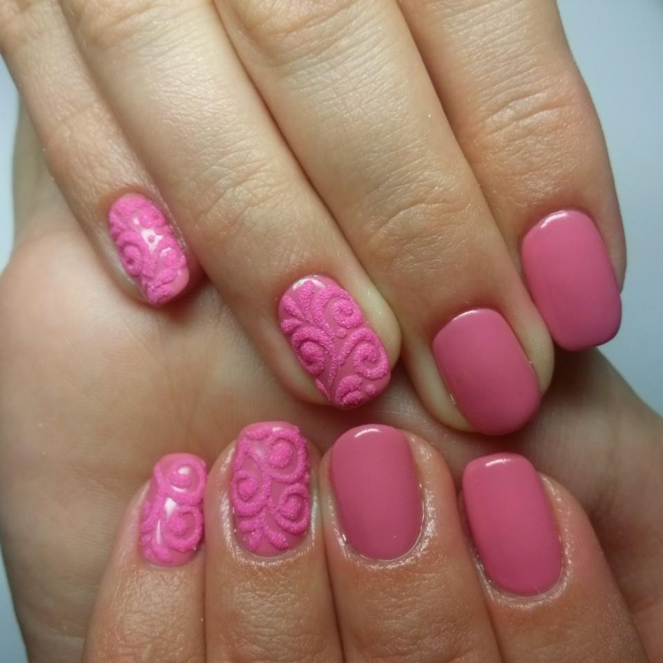 Бархатный песок на ногтях: фото и видео, как делать 626