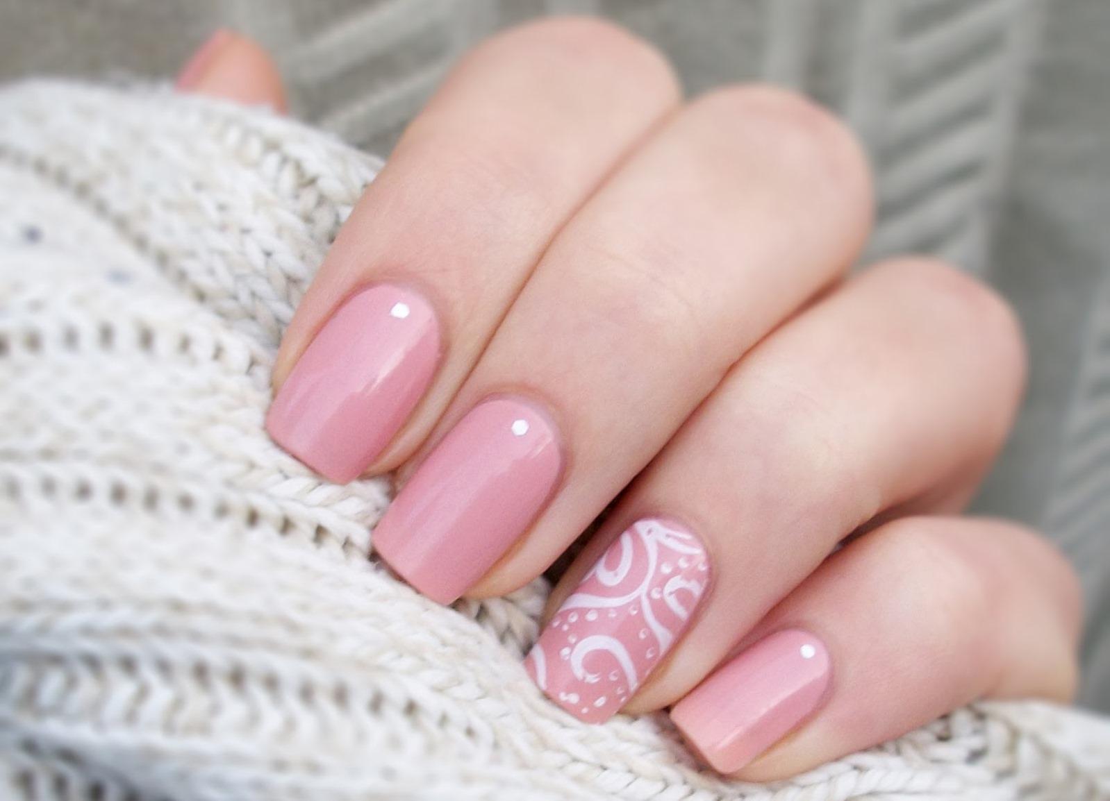 Дизайн ногтей гель лак пастельные тона фото
