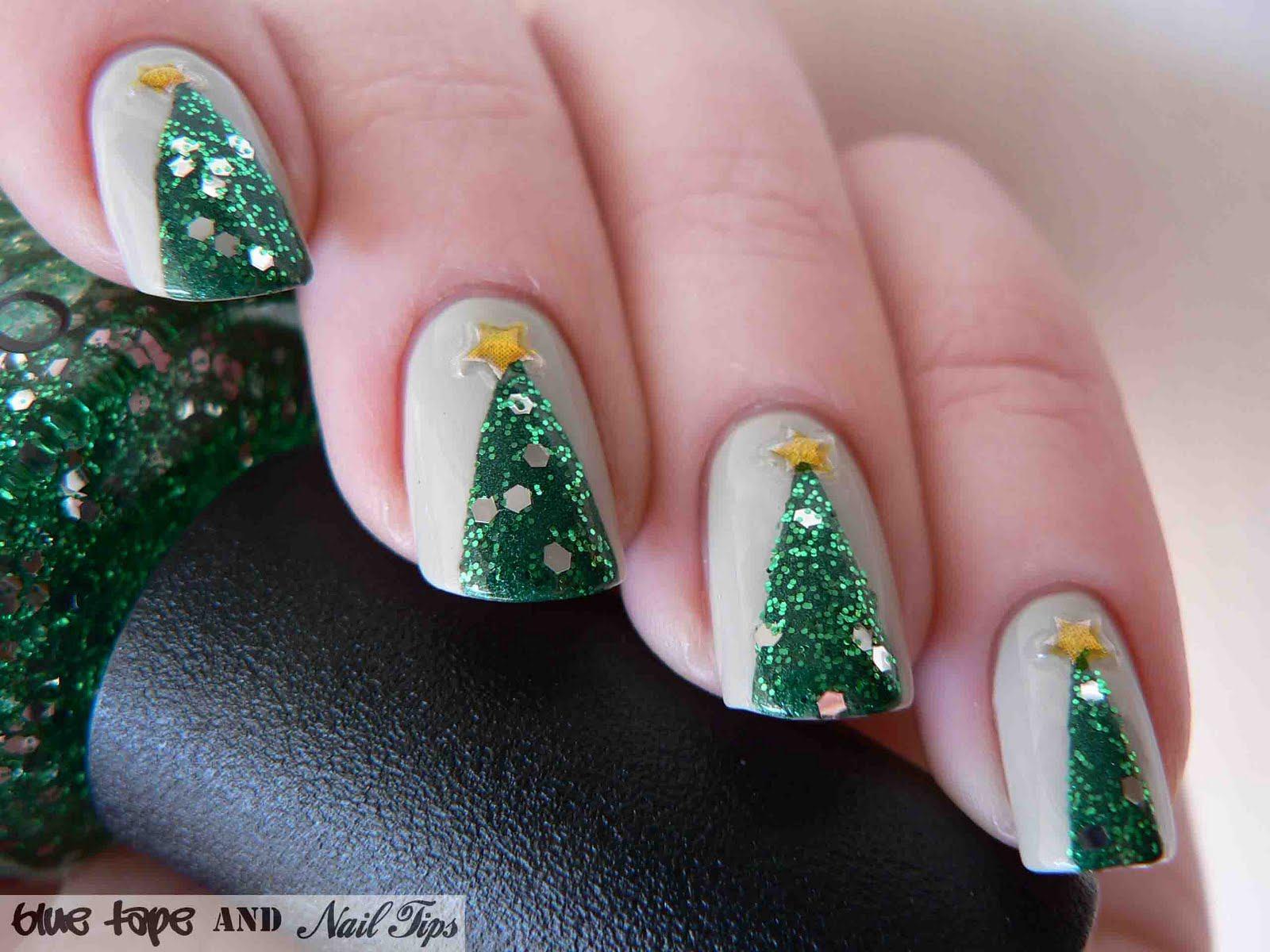 Новогодний маникюр 2018 года: идеи праздничного дизайна ногтей