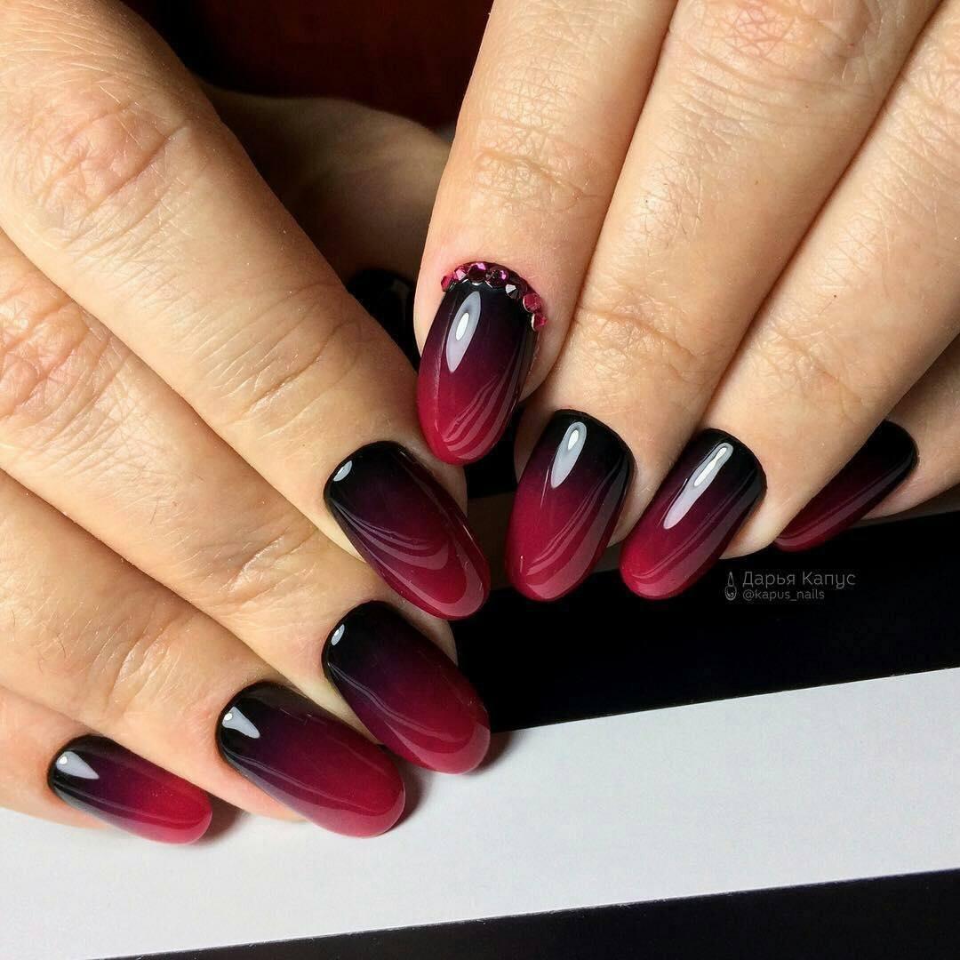Дизайн ногтей фото 2018 оранжевый цвет