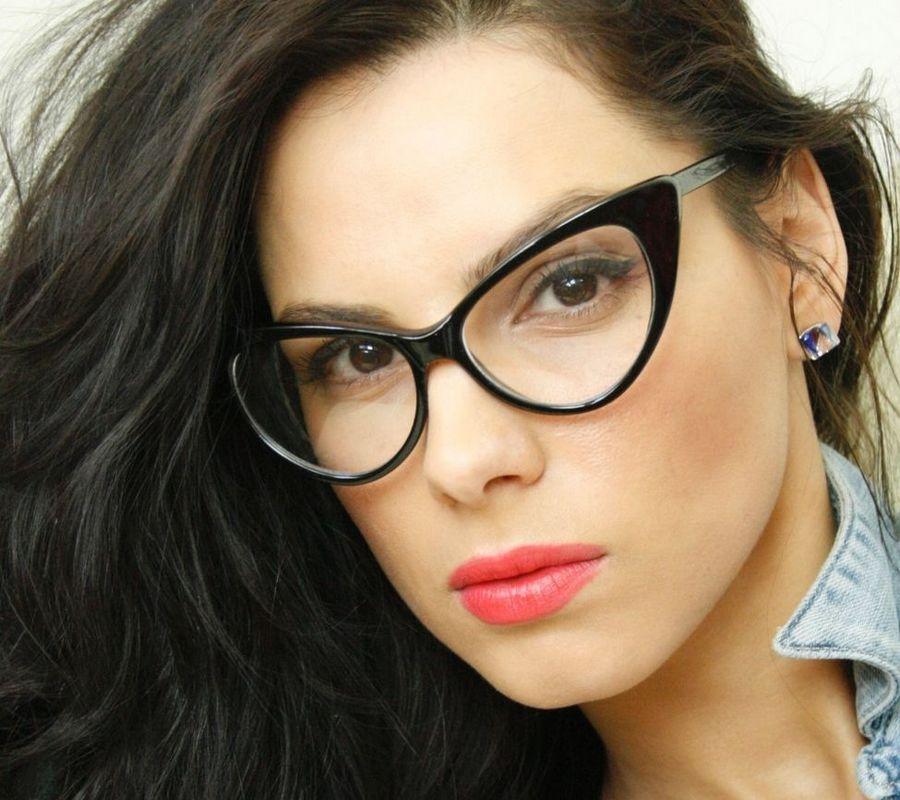 очки кошачий глаз фото женские для зрения вышивка крестом