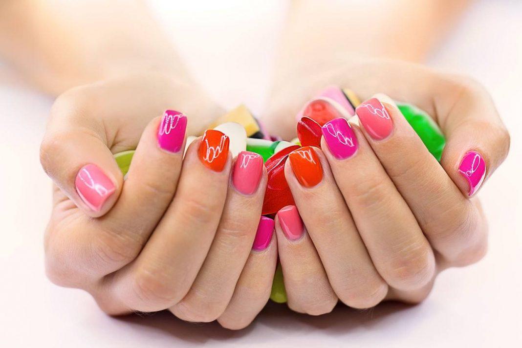 Покраска ногтей гель лаком в домашних условиях фото и