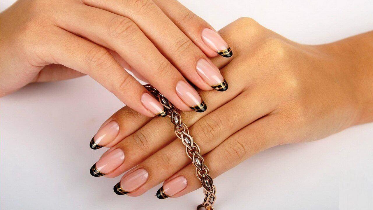 Как сделать миндалевидную форму ногтей в домашних фото 310