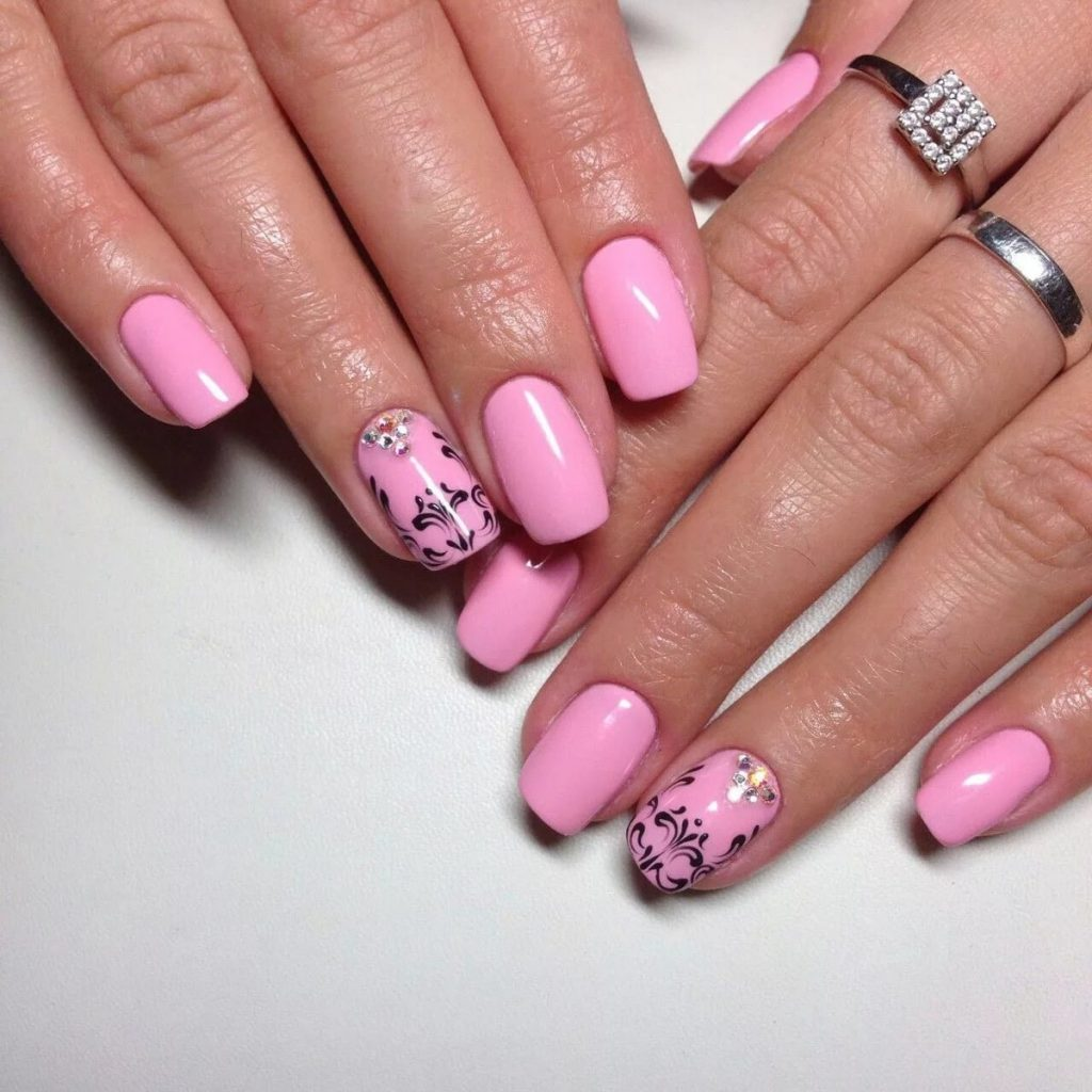 Optionen für Pink Manicure für den romantischsten und extravagantesten - Confetissimo - Frauenblog