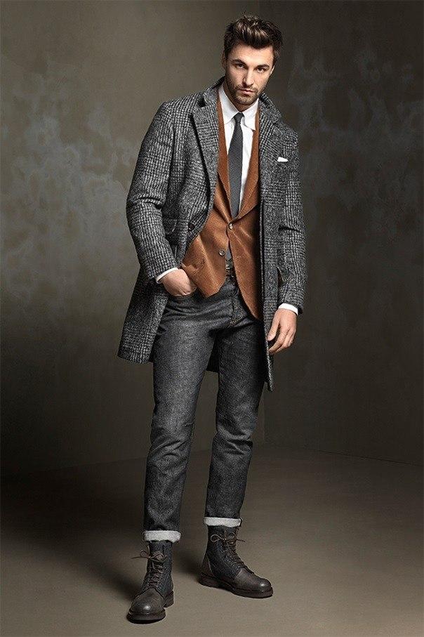 стильная мужская одежда фото неё