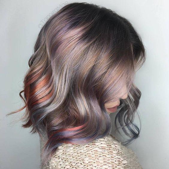 100 модных новинок Окрашивание волос 2018 цвета и
