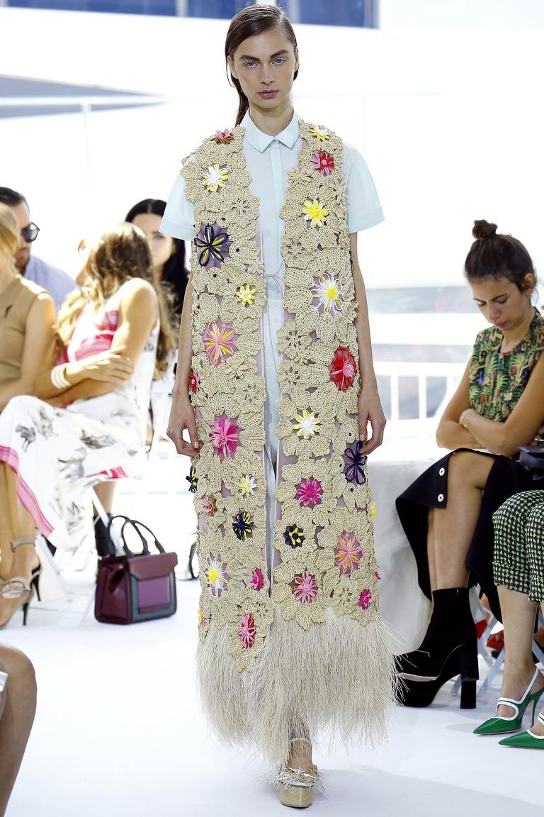 Chaleco de punto con estilo: tendencias de moda 2018