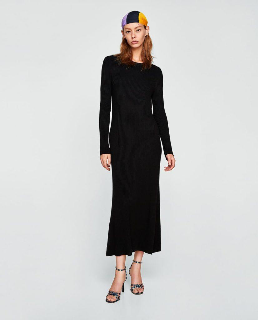 Длинное вязаное платье: с чем носить Интересные идеи и рекомендации