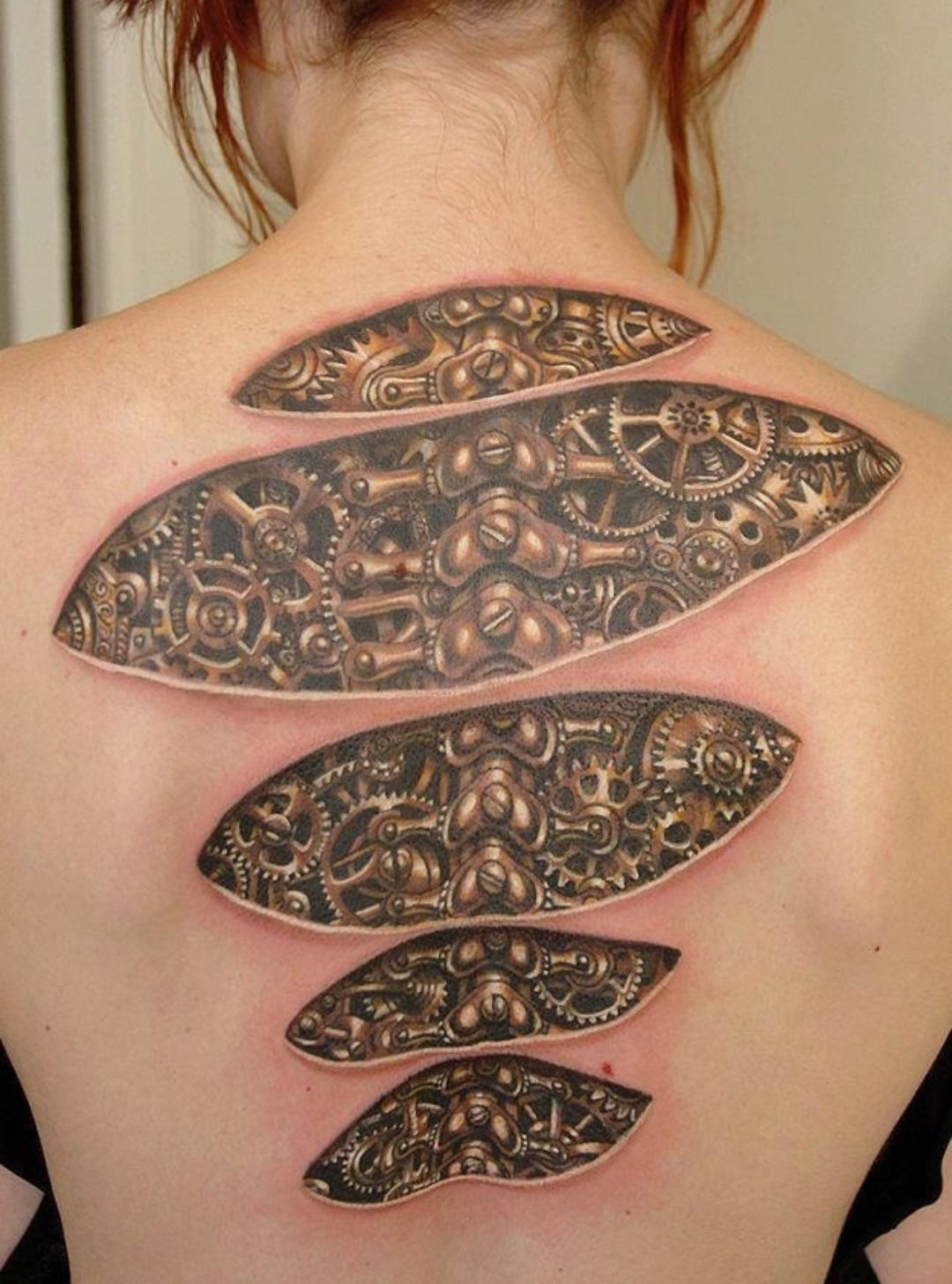 3д татуировки для девушки