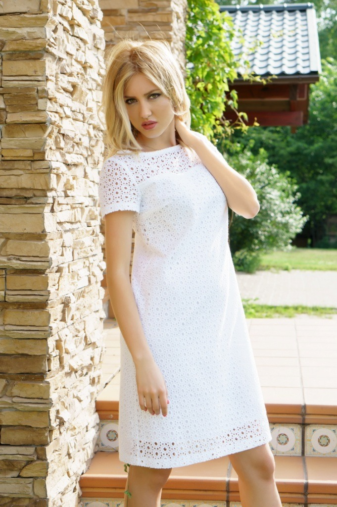 6975b6012b1b8fe Летние белые платья: 100+ лучших новинок, тенденций и трендов
