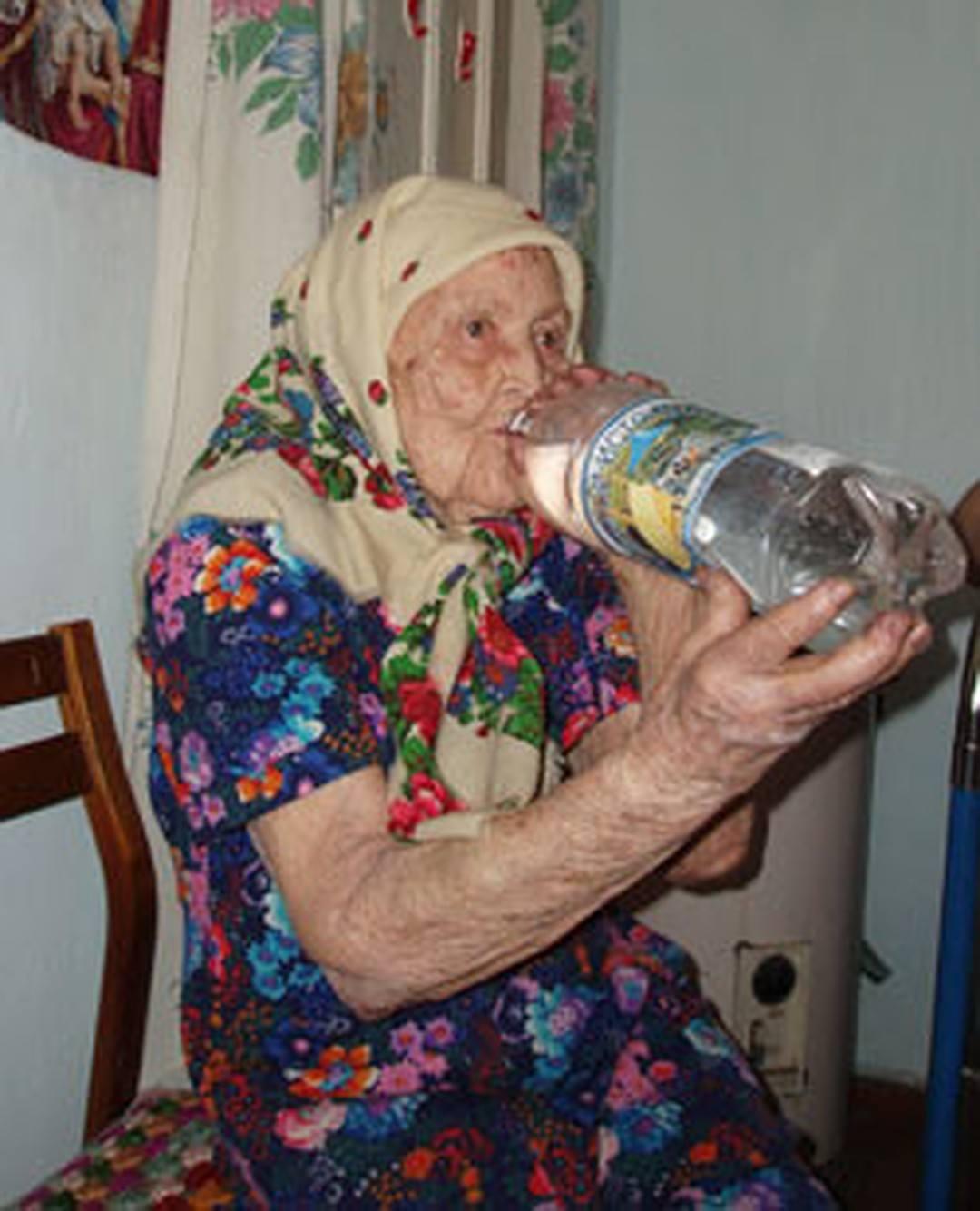 Самый старый человек в России - Topkin