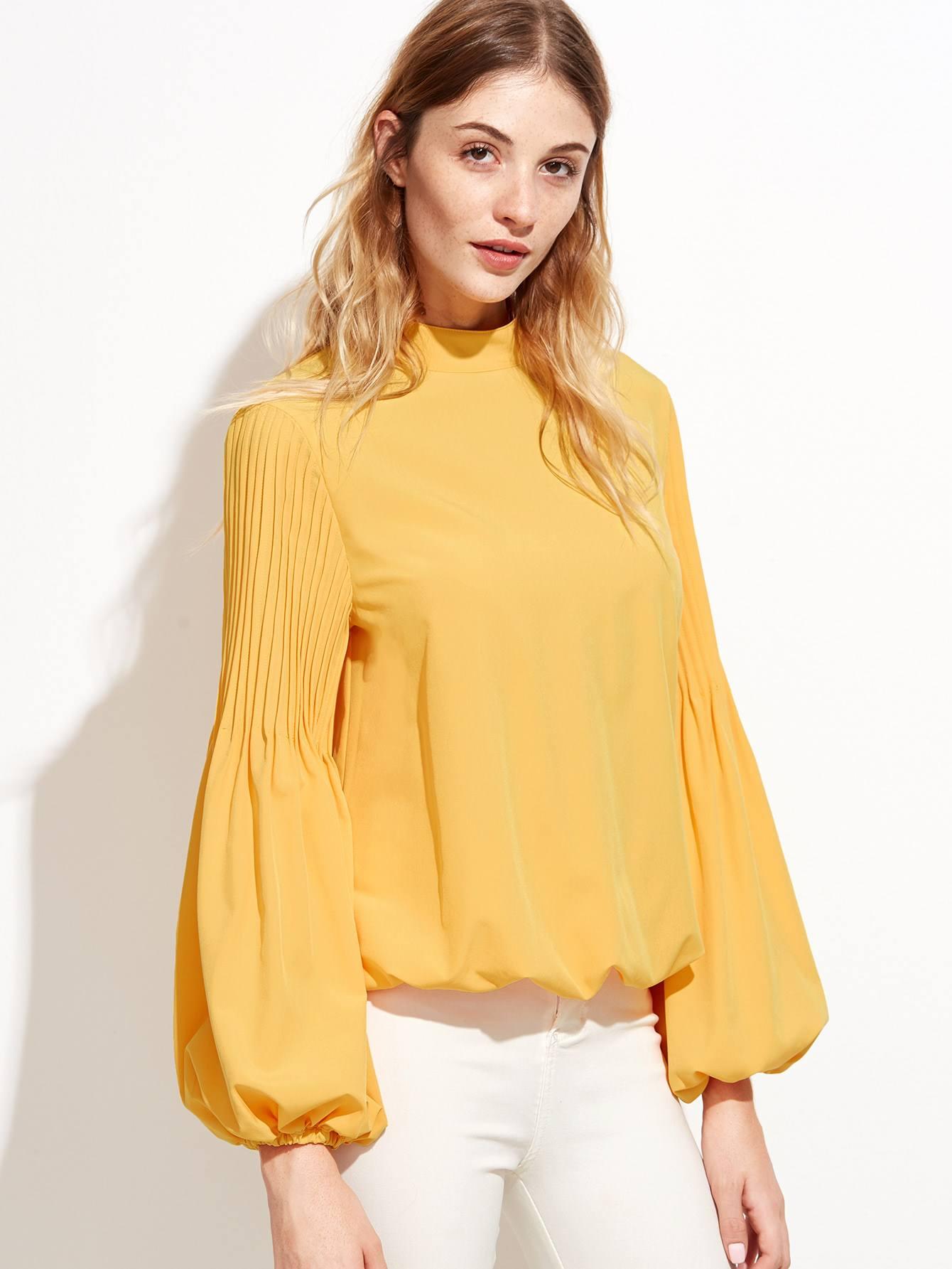 объемная блузка с чем носить фото других