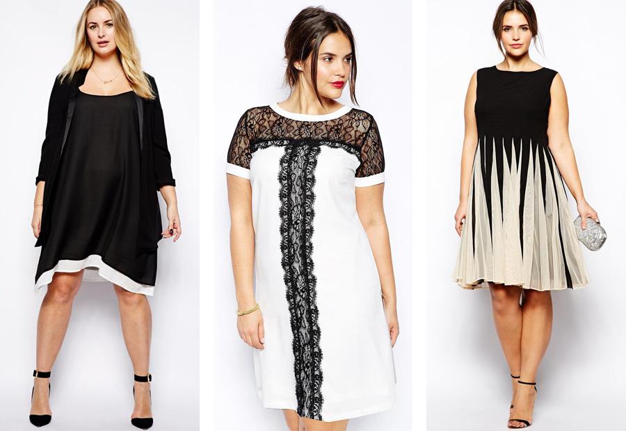 356e3032918 Задача каждой модницы с пышными формами превратить недостатки своей фигуры  в преимущества. Недостатка в фасонах и расцветках летних платьев у девушек  нет.
