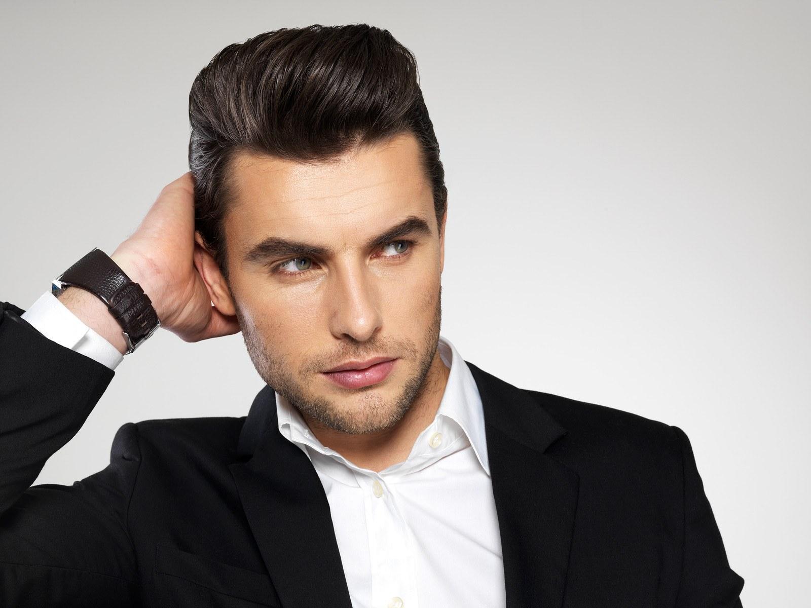 стиль парикмахерская картинки мужчине прическа