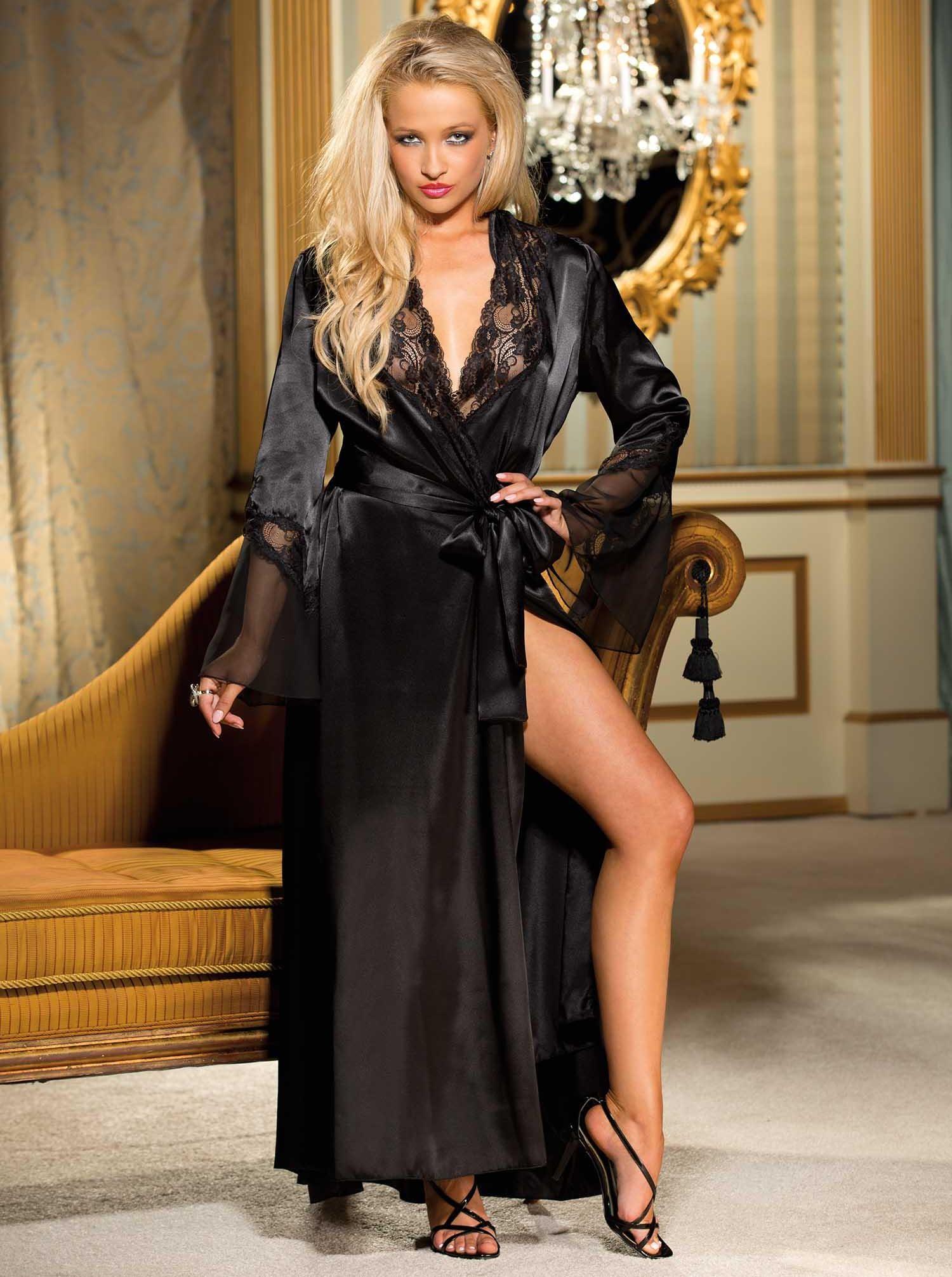 black silk robe - HD1500×2012