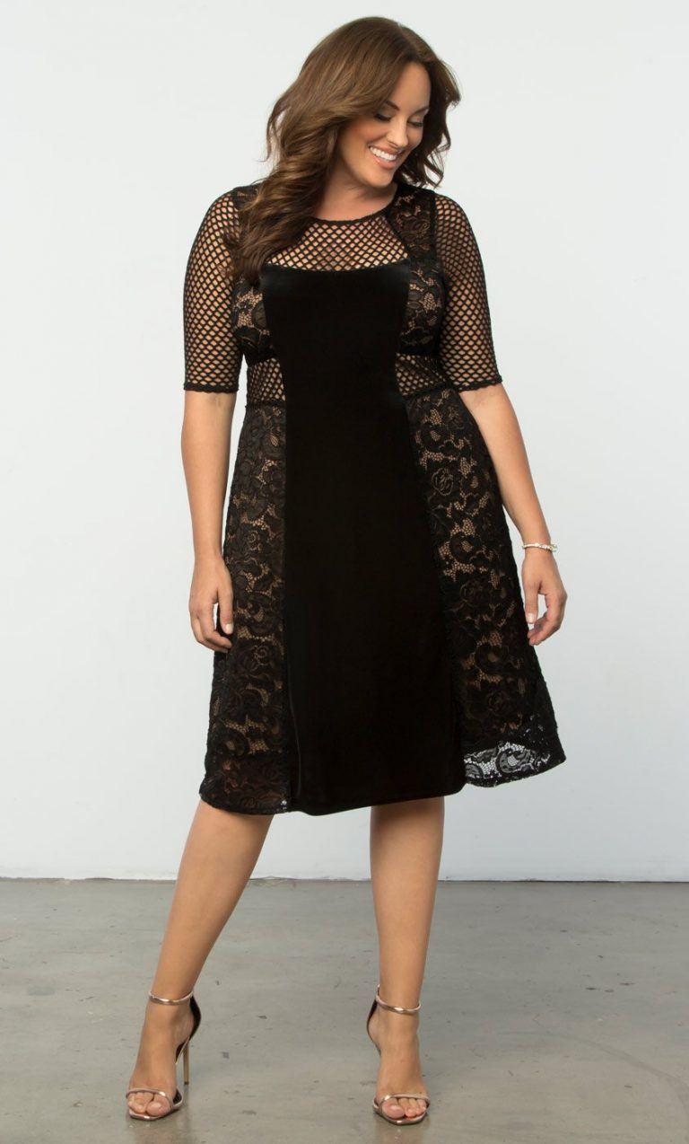 9bb8ef3a2fc Модные летние платья для полных женщин  100+ новинок сезона 2018